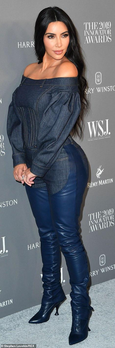 Kanye West And Kim Kardashian Pack On PDA As They Attend WSJ Magazine Innovator Awards