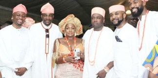 Photos From OAP Toolz's Father Oba Oniru's Burial