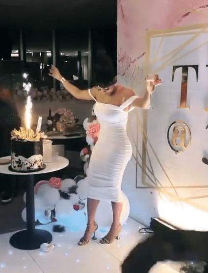The Insider: Beautiful Photos From Toke Makinwa's 35th Birthday Dinner 1