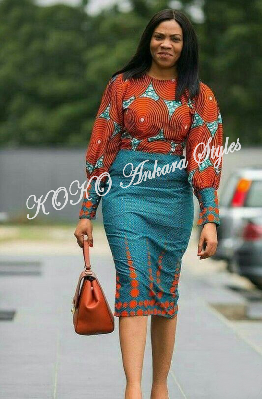 Set Forth Your Fashion Stamp In These Ankara Styles 3