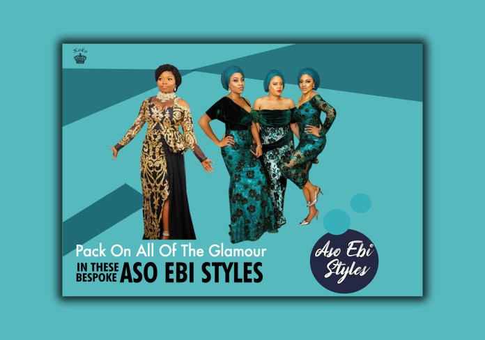 Pack On All Of The Glamour In These Bespoke Aso Ebi Styles