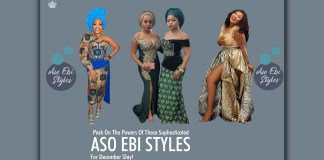 5 Sophosticated Aso Ebi Styles For December Slay!