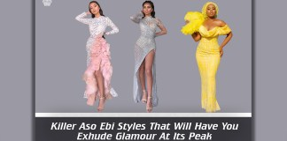 Killer Aso Ebi Styles That Will Have You Exhude Glamour At Its Peak
