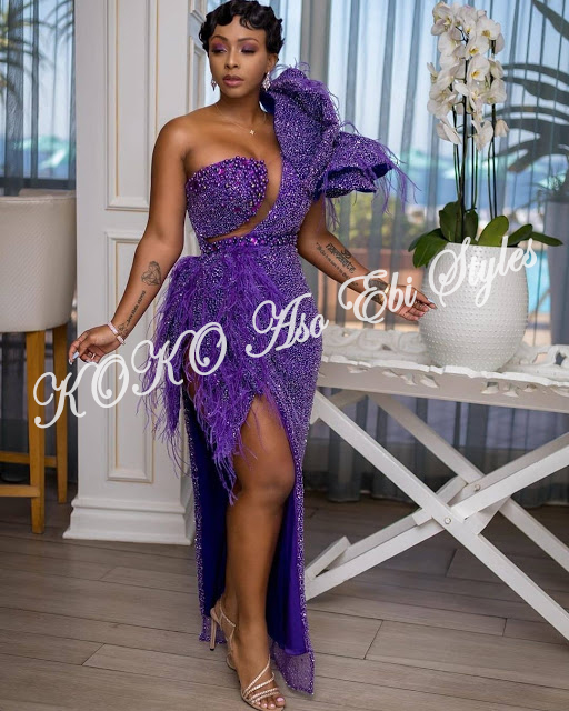 Channel Your Inner Beauty In These Beautiful Aso Ebi Styles 5