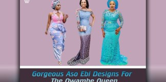 Gorgeous Aso Ebi Styles And Designs For The Owambe Queen1