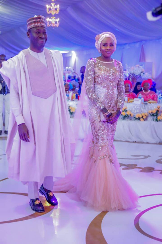 Pictures From Senate President Ahmed Lawan's Son's Wedding Ceremony