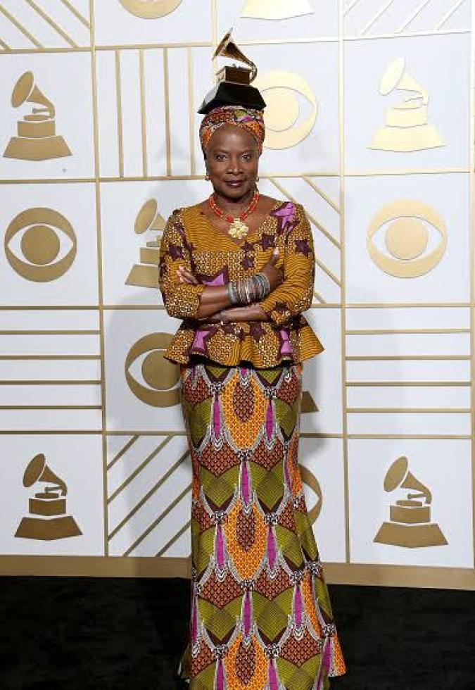 Angelique Kidjo Is An Ageless Beauty On The Cover Of Milc Magazine