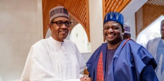 President Buhari and Adesina