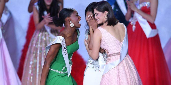 Nyekachi Douglas: Miss Nigeria's Reaction To Tony-Ann Singh Winning Miss World 2019 Is Friends Goals 2