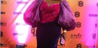 Uche Jombo At Sugar Rush Premiere KOKO TV NG 9