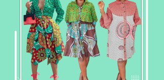 Ankara Styles: How Will You Rather Mix Your Ankara Fabrics?