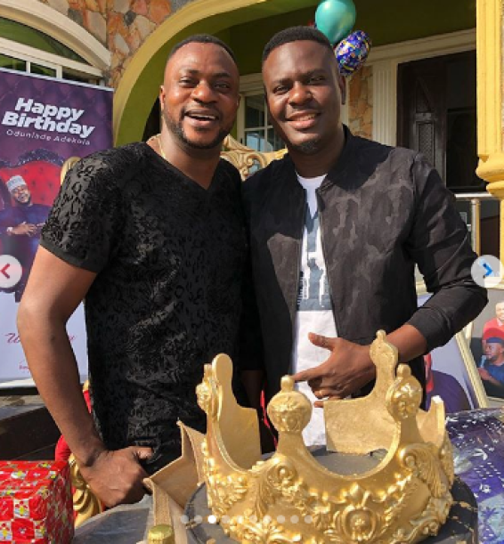 Pictures From Odunlade Adekola's Birthday Celebration