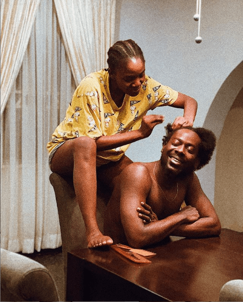 Adekunle Gold And Simi Are 1 Already! See Their Love Messages