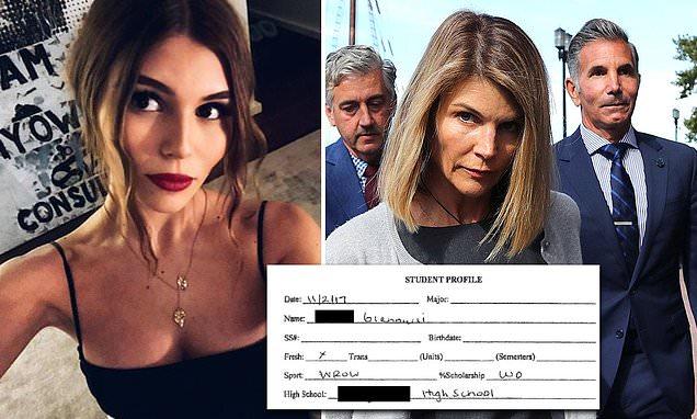 Lori Loughlins Daughters Alleged Fake Résumé Has