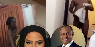 Maryam Booth's Nude With Senator Uba Sani Hits The Internet