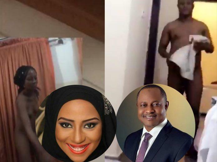 Maryam Booth's Nude With Senator Uba Sani Hits The Internet