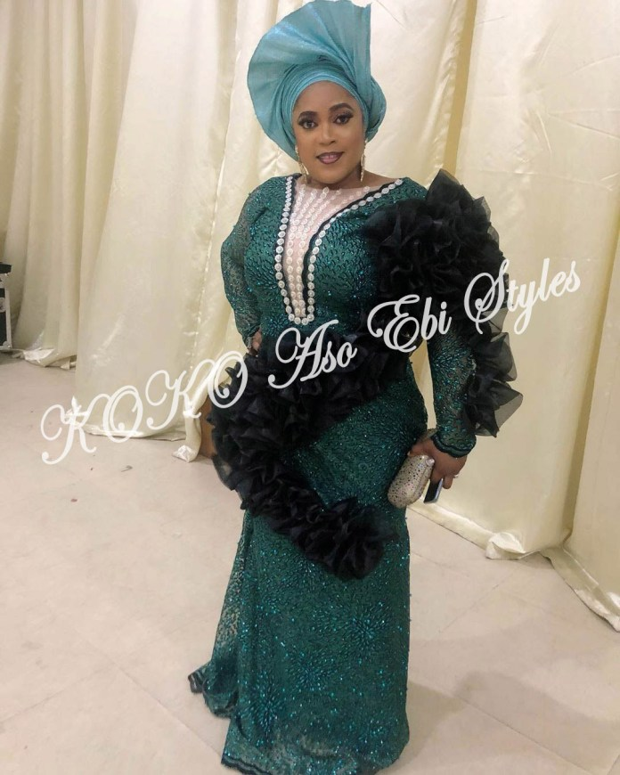 10 Stunning Aso Ebi Styles For Fashionable Plus Sized Ladies