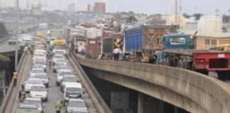 Marine bridge, Lagos state