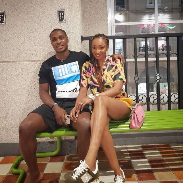 Sonia, Jude Ighalo's Wife Slams Fan Who Asked About Her Marriage