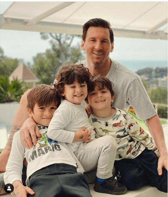 Messi Familie
