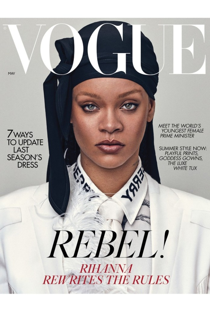 Rihanna Is Flawless On The Latest Issue Of British Vogue Magazine