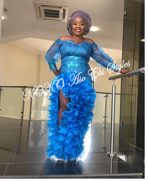 Be The Queen Of The Event In These Elegant Aso Ebi Styles