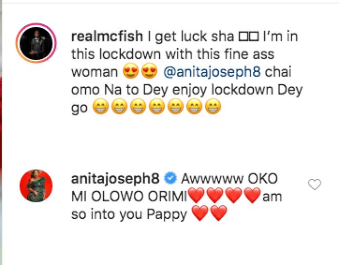 I'm So Lucky - Mc Fish Gushes Over Anita Joseph