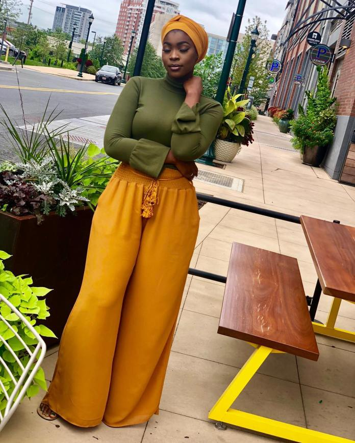 Muslimah Style: Saiz Ndure Slays Modest Fashion In Chic And Trendy Outfit