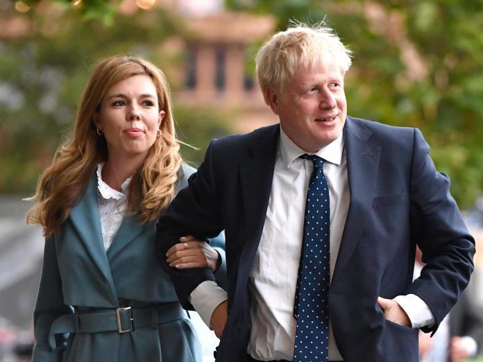 New UK Prime Minister Boris Johnson And Fiancee Carrie Symonds ...