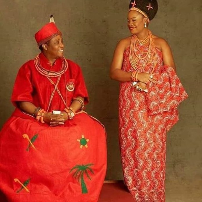 Oba Of Benin Welcomes Baby Boy