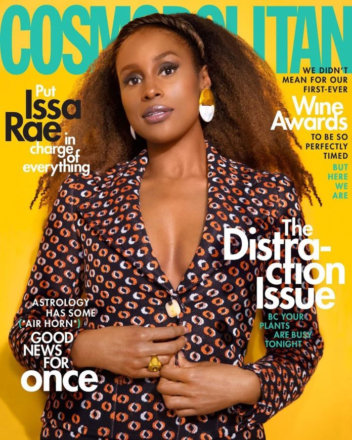 Issa Rae Is Flawless On The Cover Of Cosmopolitan Magazine