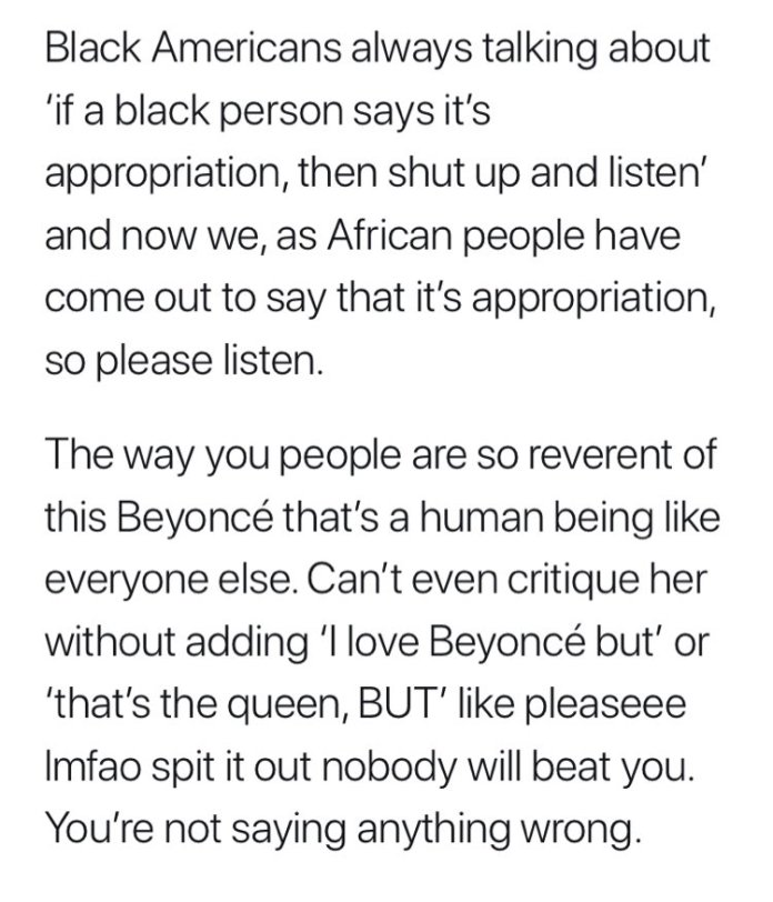 Beyonce Is One Of Africa's Problems - Nigerian Model Spits Fire On Singer