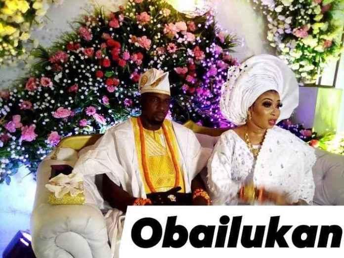 Liz Anjorin adn Husband Lawal Lateef