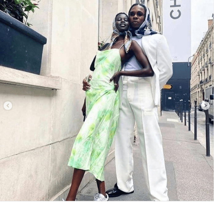 Runtown And Model Adut Akech Are Engaged