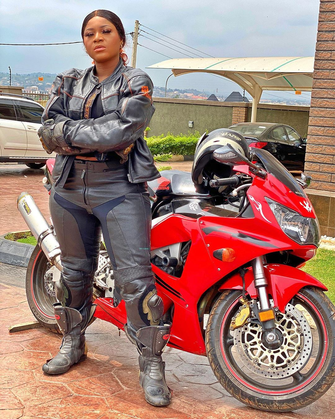 Destiny Etiko Is A Hot Biker In New Snap