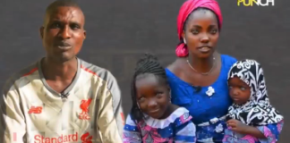 Wasiu Dada, Risikatu and their children