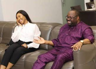 Erica and Dele Momodu