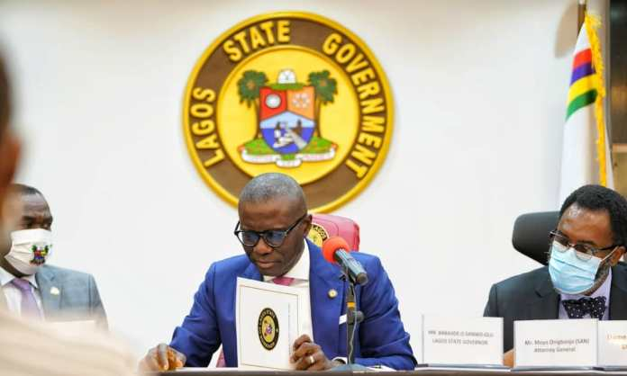 Sanwo-Olu Launches Lagos Task Force On Human Trafficking
