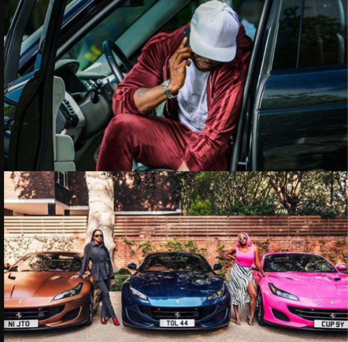 Peter Okoye React To Otedola's Ferrari Gift To His Daughters