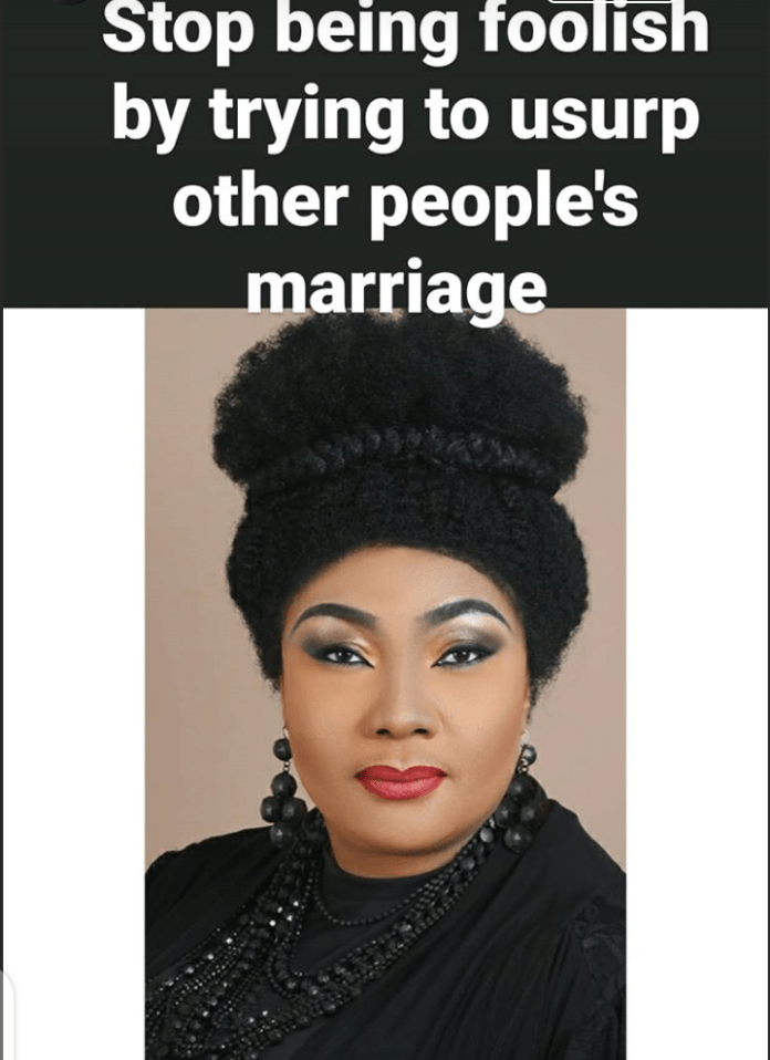 Eucharia Anunobi addresses side chics