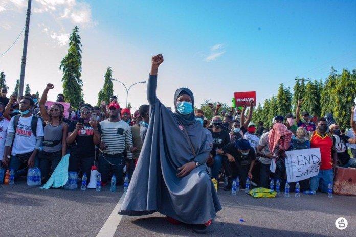Aisha Yesufu, Lekki Massacre tribute 20.10.2020