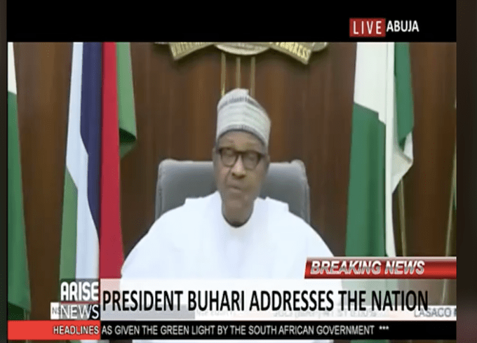 Nigerian Youths Are Heartbroken! See Reactions To Buhari's Speech