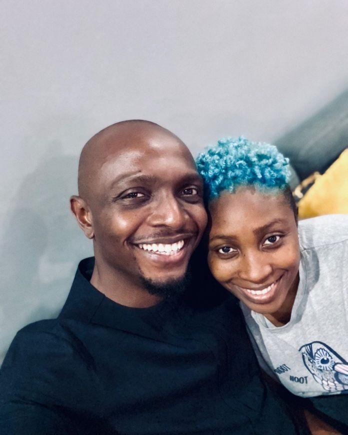 IK Osakioduwa and wife Olohije