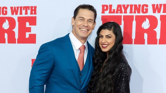 John Cena and Shay Shariatzadeh