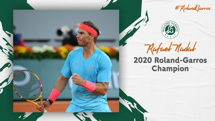 Rafael Nadal: Roland Garros 2020