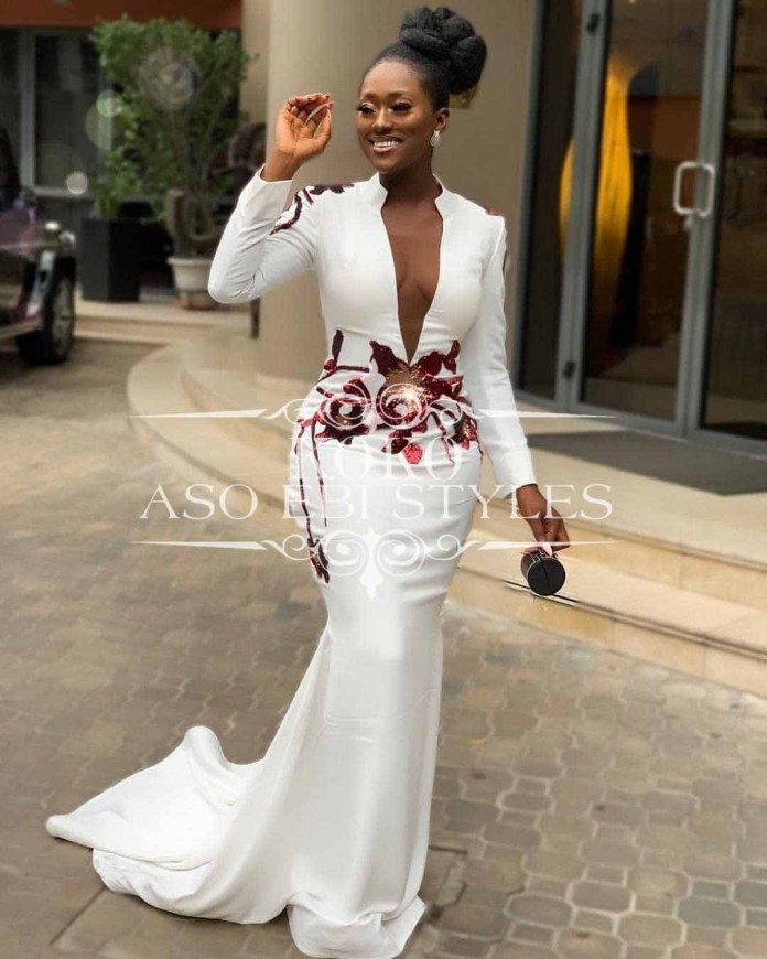 Aso Ebi Mermaid Wedding Styles