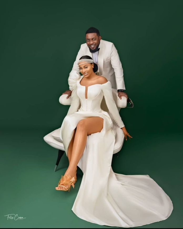 AY Makun and Wife Mabel Makun