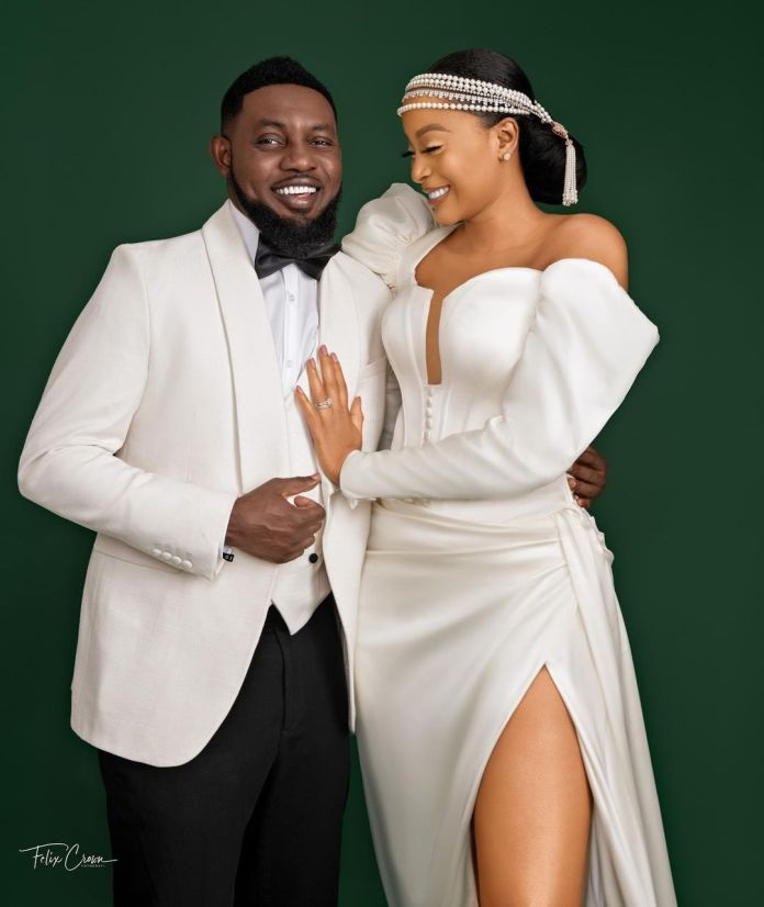 AY Makun and wife, Mabel