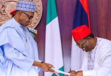 Buhari and David Umahi