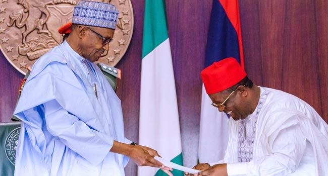 Buhari and David Umahi
